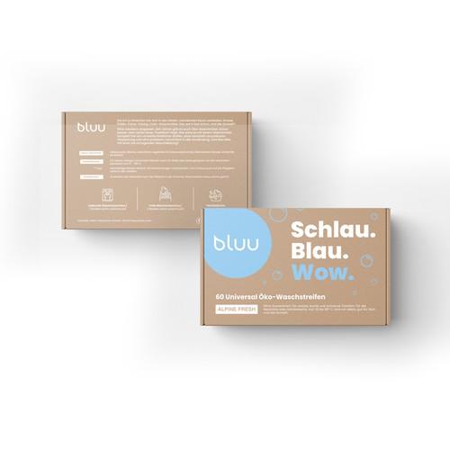 Bluu package design