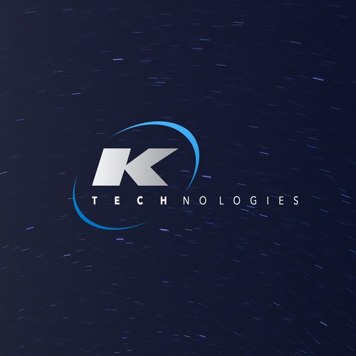 Futuristic logo for a manufacturer
