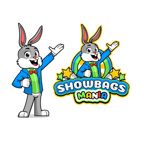 Fun and Vibrant logo for Showbag Mania