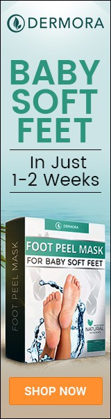 Eye-catching Banner Ads for our Foot Peel Mask