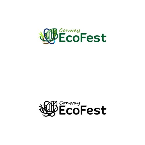 Logo concept for Conway Eco Fest