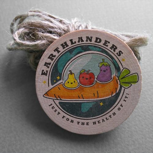 Logo design concept for Earthlanders