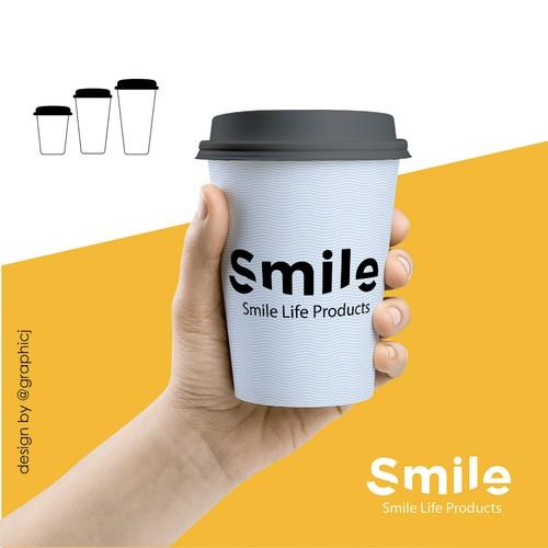 Concept logo for Smile