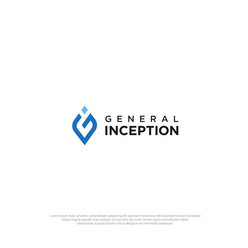 "Logo for Venture Studio ""General Inception"""