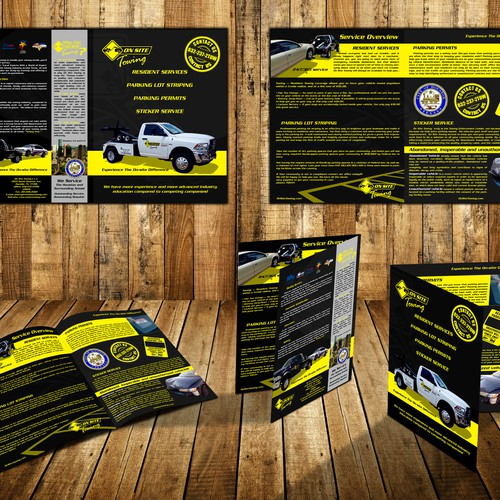 On site towing brochure