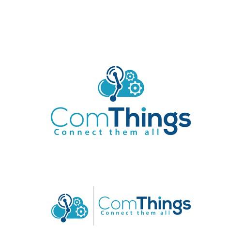 Logo for an innovative startup