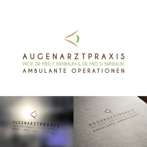 Logo concept for an oculist practice