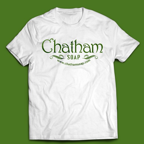 T SHIRT for CHATHAM SOAP