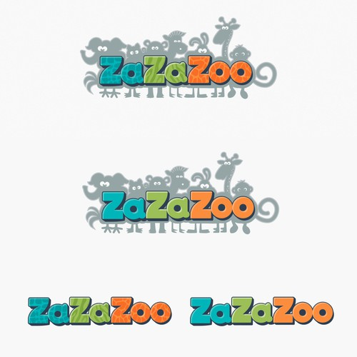 ZaZaZoo logo design