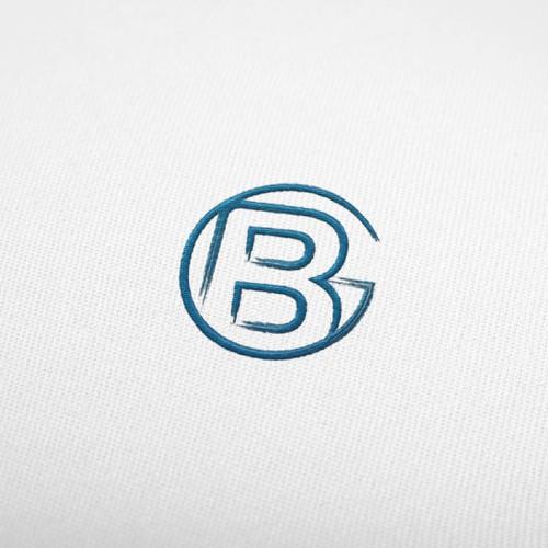 Bocking Golf logo design