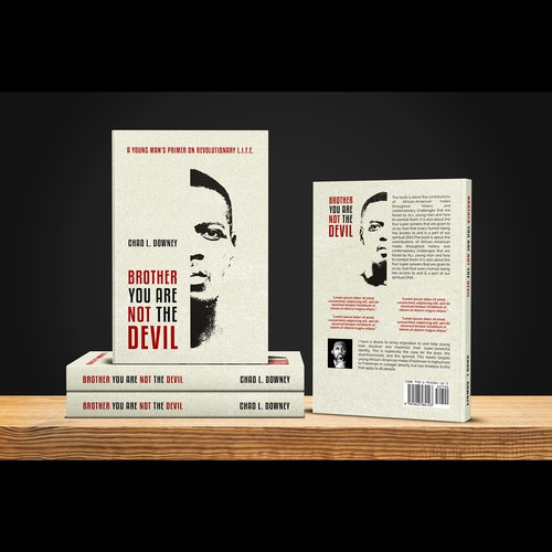 "Book cover for ""Brother You Are Not The Devil"""