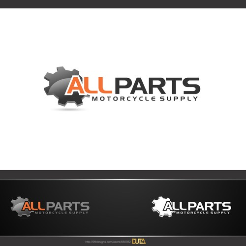 Create the next logo for Allparts Motorcycle Supply