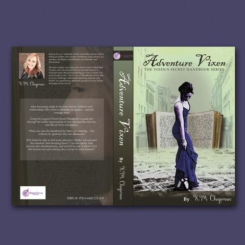 Book Cover for 'Adventure Vixen' - Book