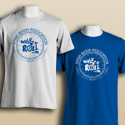 National Walk t-shirt design