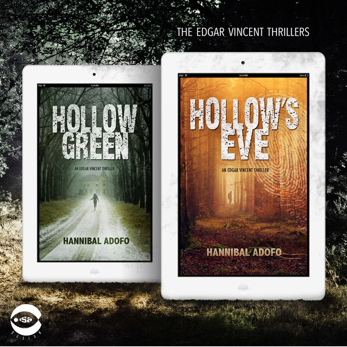 "eBook covers for ""Edgar Vincent Thrillers"""