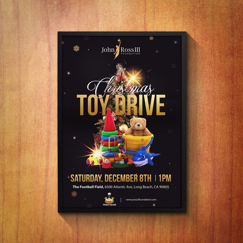 John Ross III Christmas Toy Drive Event