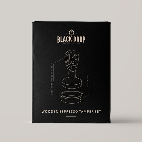 Package Designs For Coffee Accessories Brand
