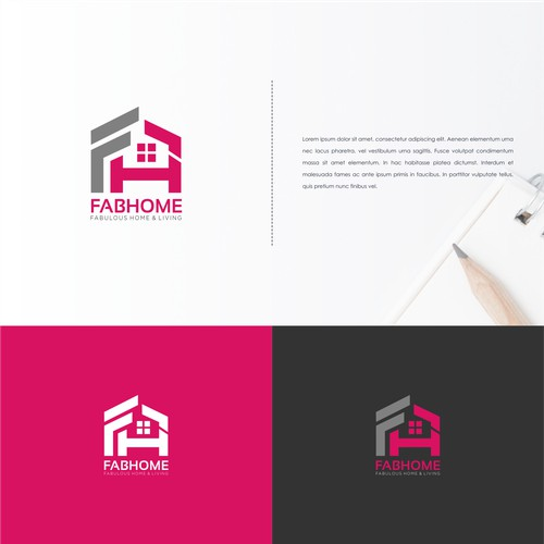 Simple Logo Consept for FabHome