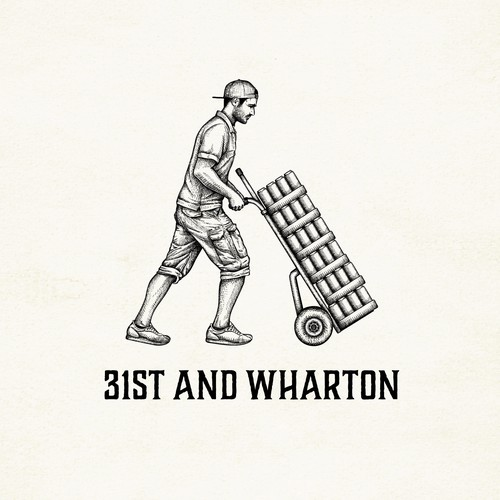 Logo/illustration for 31st and Wharton  - wholesaler based in Philadelphia