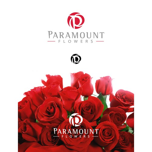 Paramout logo for a quality flower importer