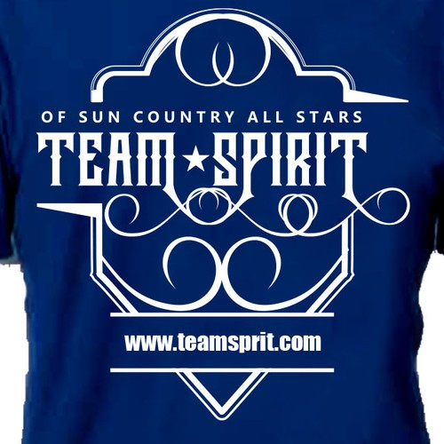Competitive Cheer T-shirt Design