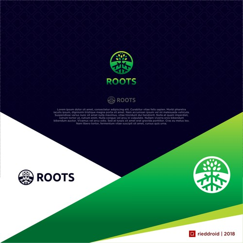 Logo concept for Roots