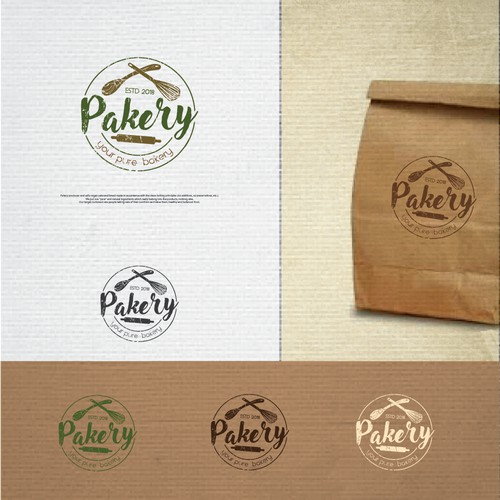 Create a logo for a new innovative and healthy bakery