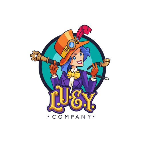 Logo design for L.U.E.Y.