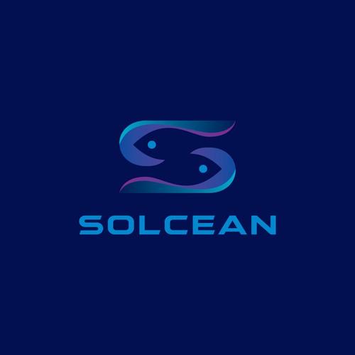 SOLCEAN logo concept