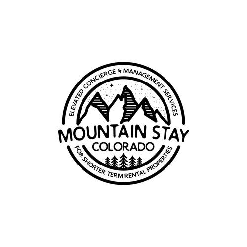 Logo Concept: Mountain Stay Colorado