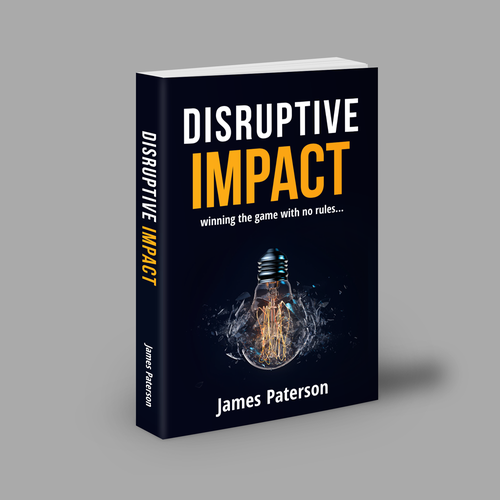 Book Cover concept for Disruptive Impact