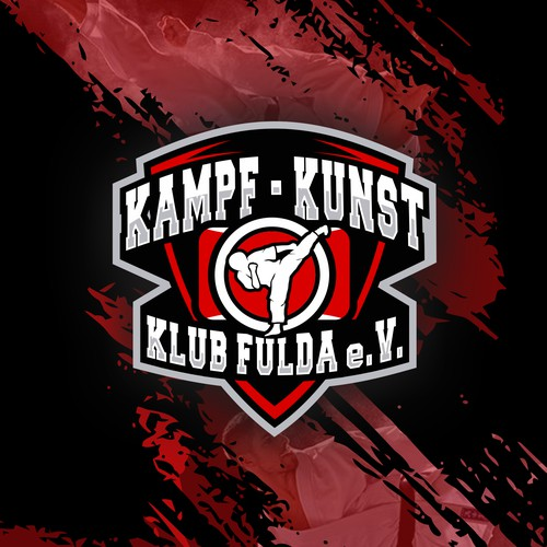 logo for KAMPF - KUNST (on profit organization that conceptualize martial arts and photography)