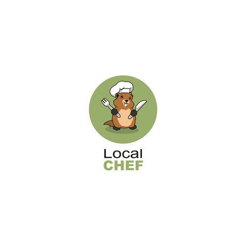 Chef animal marmot