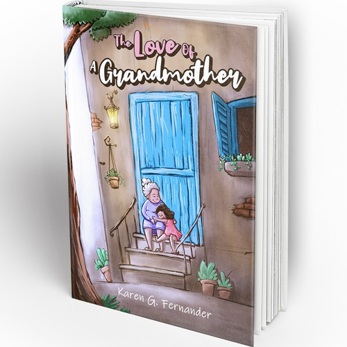 Cover design for Children story book