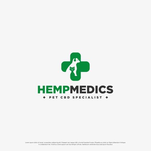 Pet medical logo for HempMedics