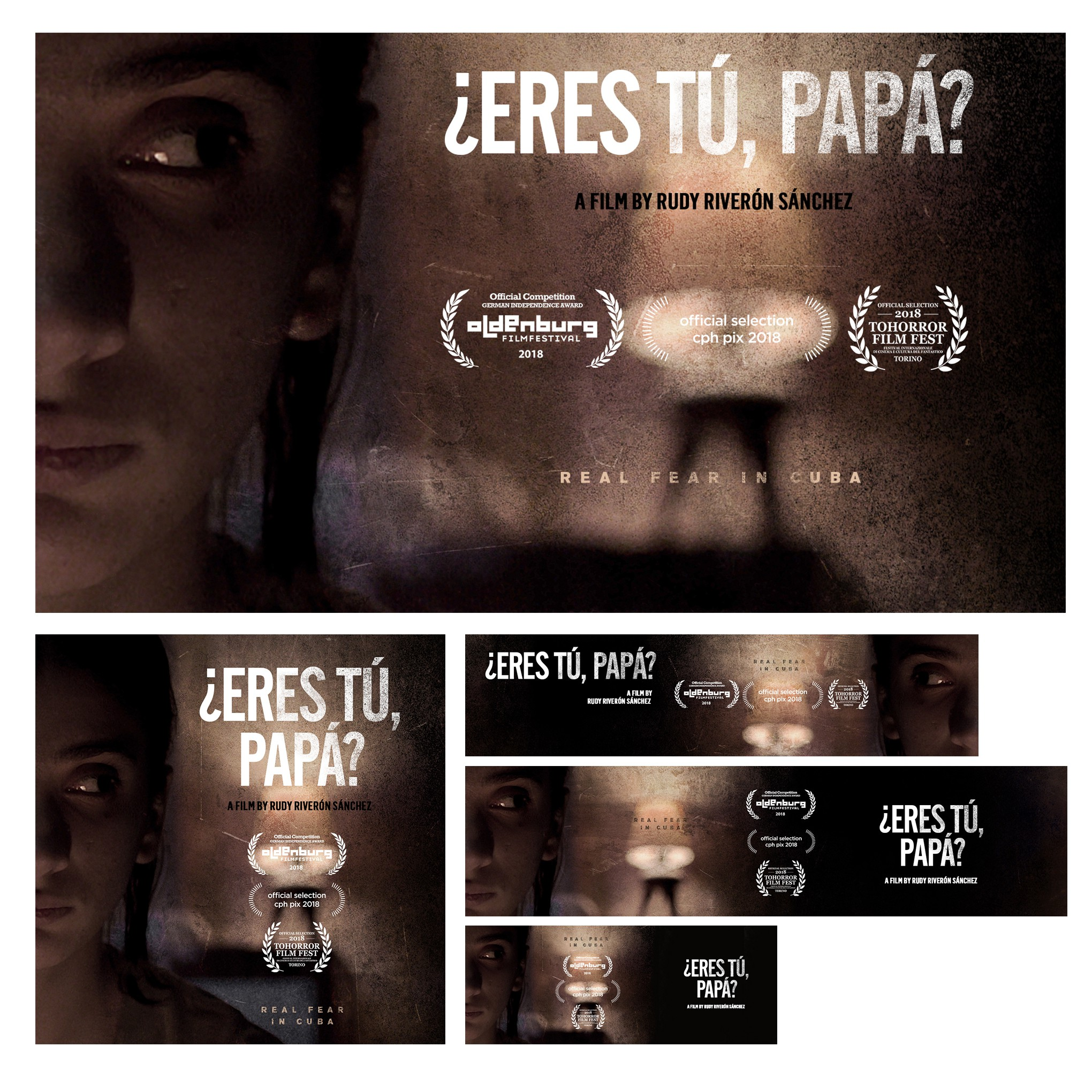 Eres Tu Papa? - Poster versions and Online presence versions