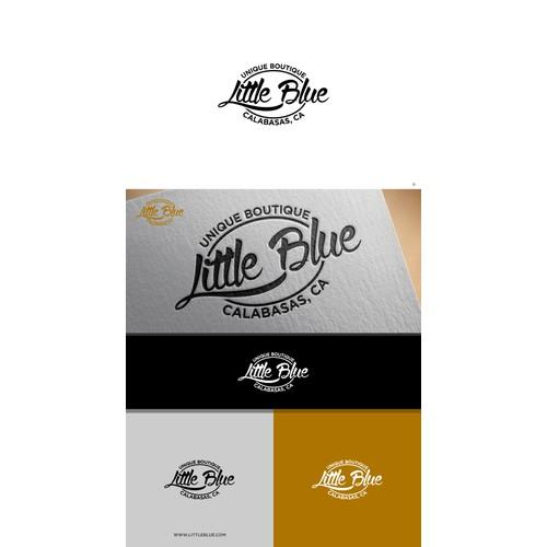 """Logo Design for """"LITTLE BLUE"""""""
