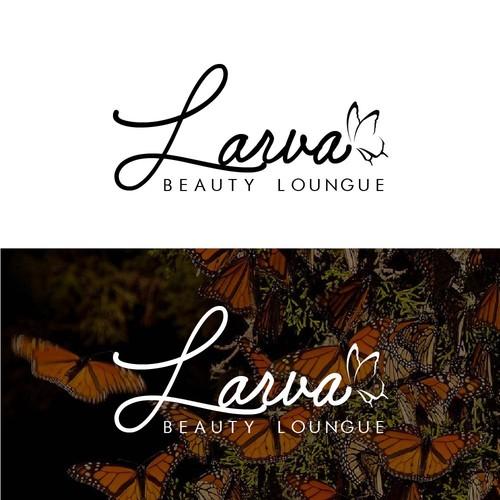 Logo propose for Larva beauty lounge