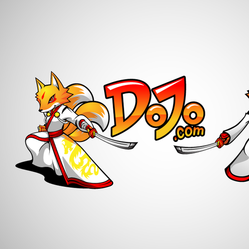 Design fun, stylish logo and mascot for upcoming game portal Dojo.com
