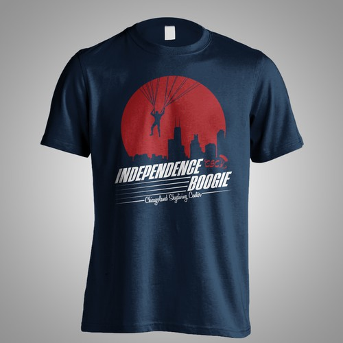 T-Shirt for Skydiving Event