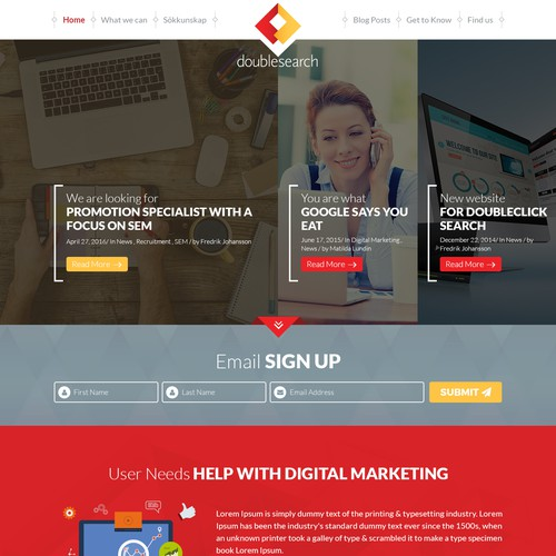 Custom website design