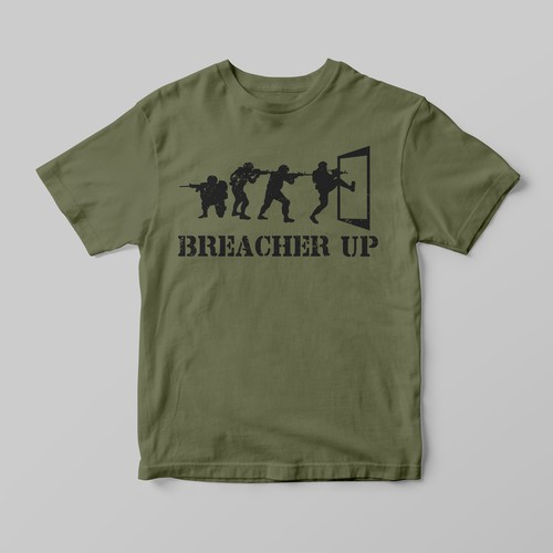 Breacher Up T-shirt
