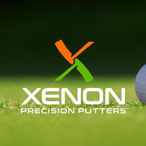 Xenon precision putters logo