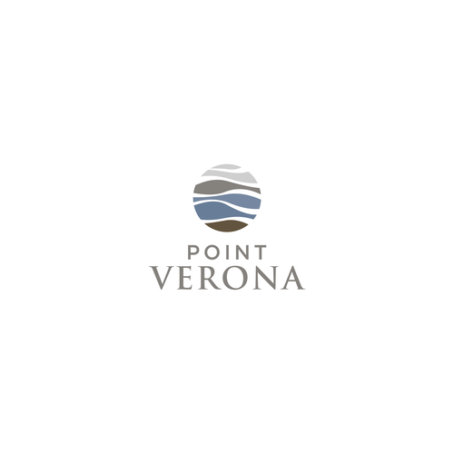 Luxury, feminine, organic, earthy colored design concept for Point Verona