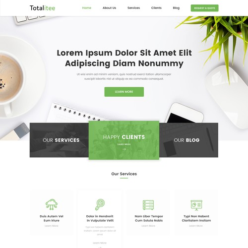 Design Website for Technology Solutions Company
