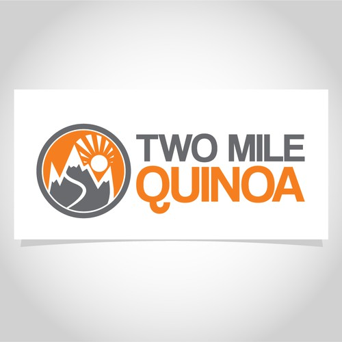 Logo concept for a quinoa business