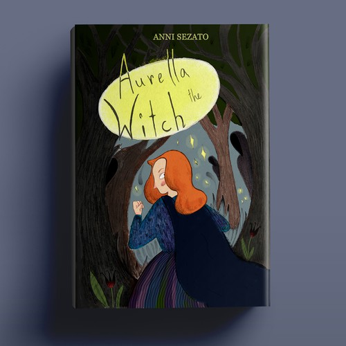 Book cover for Aurella the witch