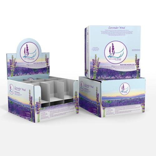 Create first design for ongoing lavender farm boxes project