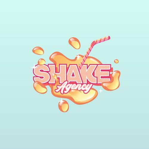Shake Agency logo design concept