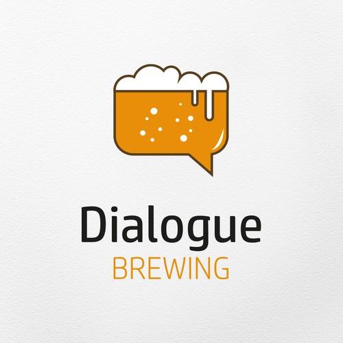Logo concept for Dialogue Brewing